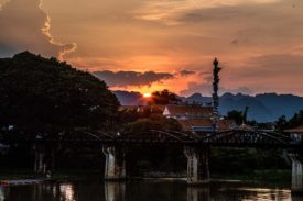 Spending Remembrance Day on the Real-Life Bridge on the River Kwai