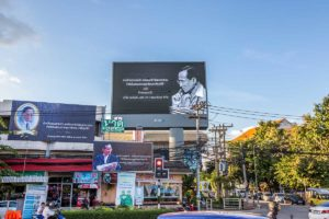 thai king mourning bangkok