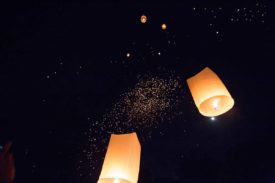 The Worst Way to End a Thai Lantern Festival