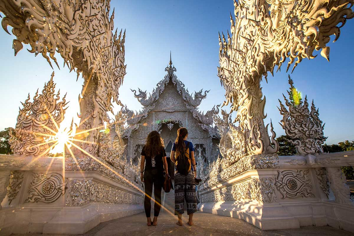 Chiang Rai's White Temple is a Modern Architectural Marvel