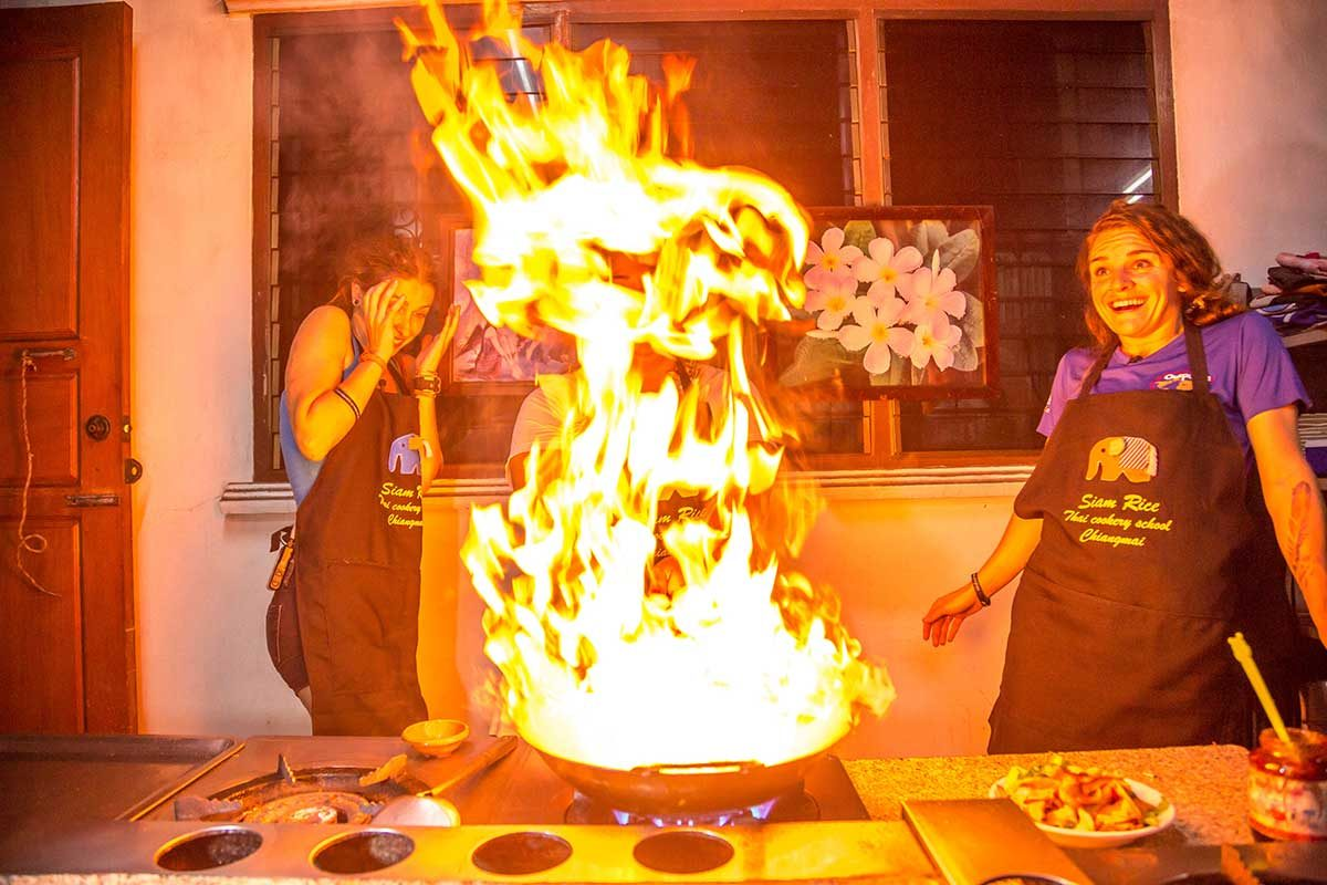 Setting Fire to a Thai Kitchen… in a Good Way
