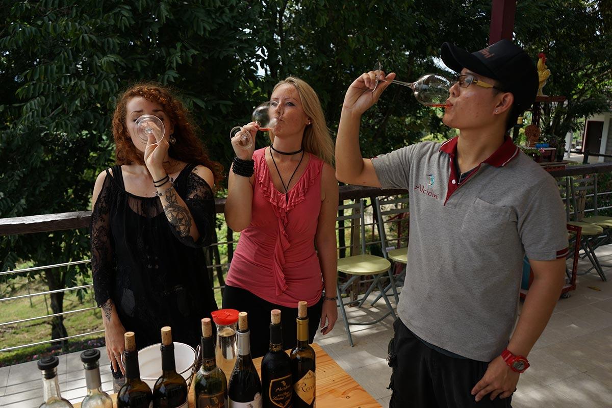 thai wines