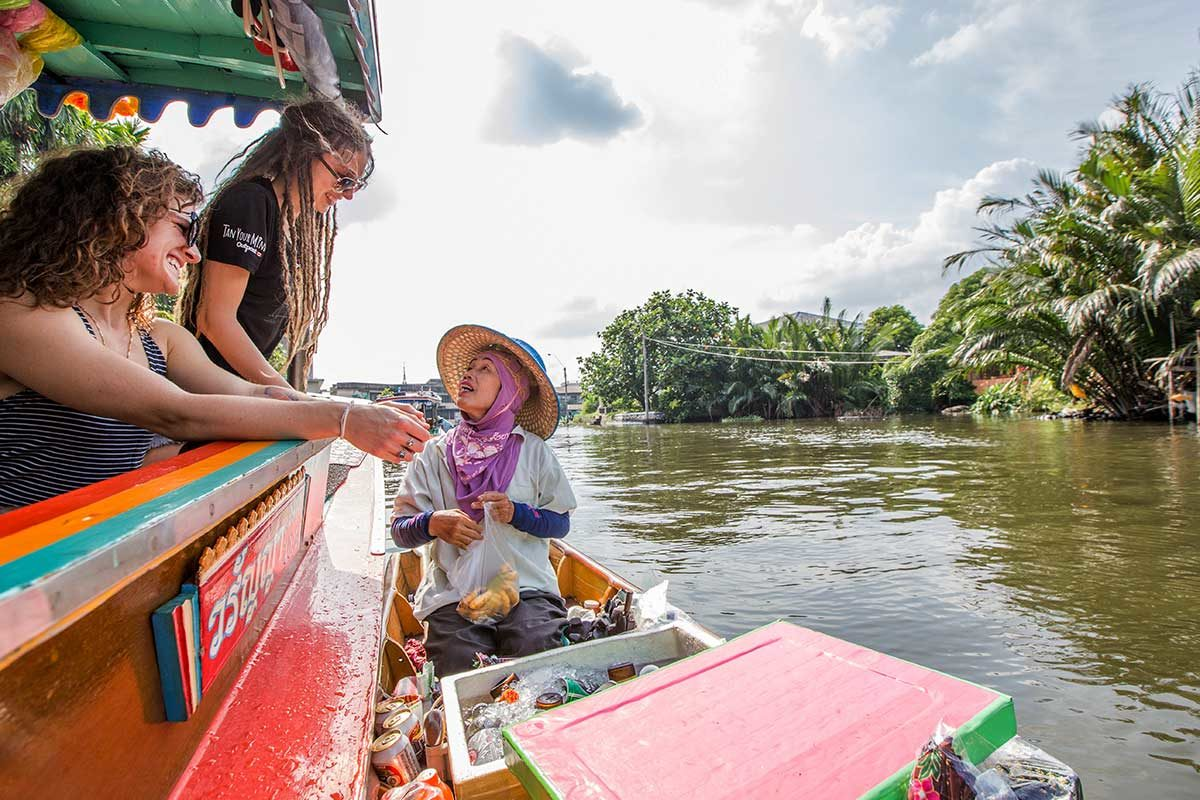 A Banana's Worth: Haggling on the Chao Phraya River