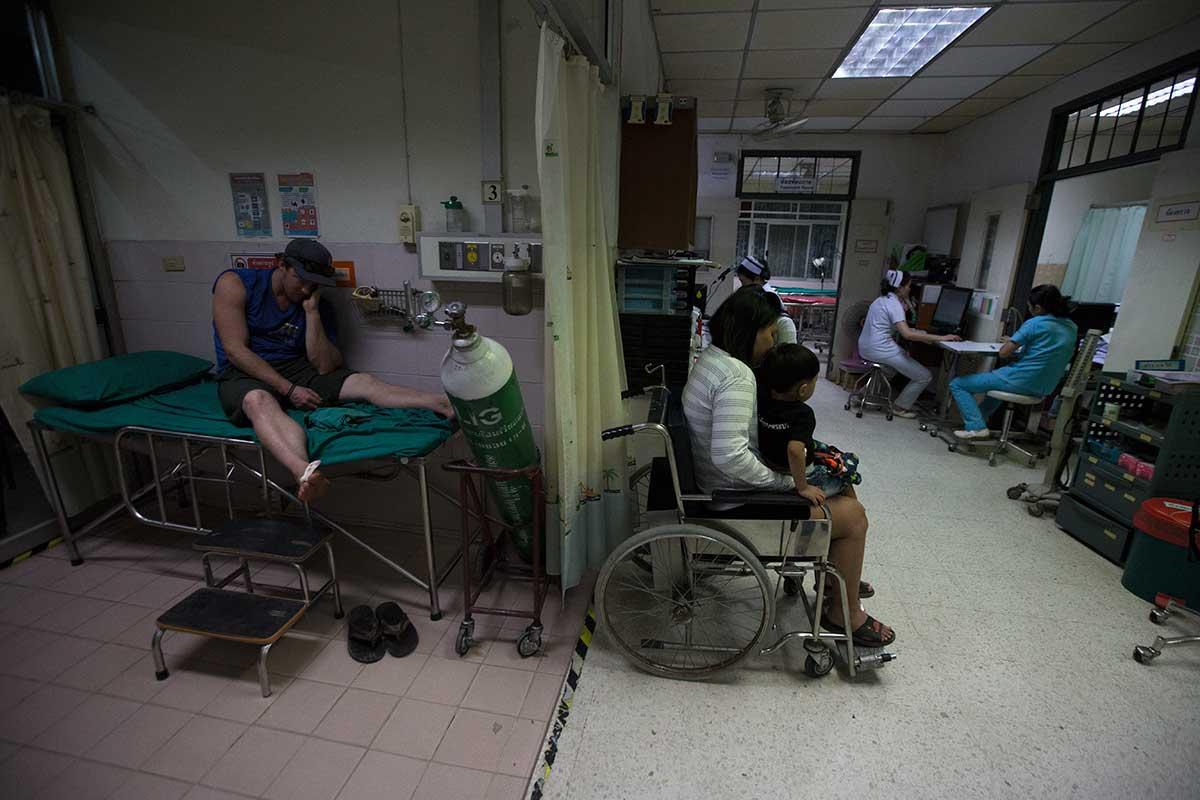 thai hospital foreigner