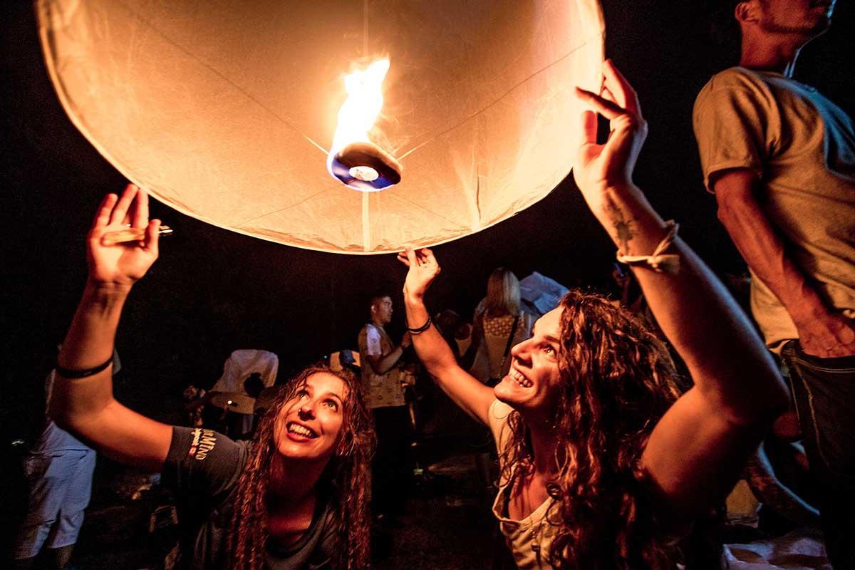 chiang mai big lantern festival