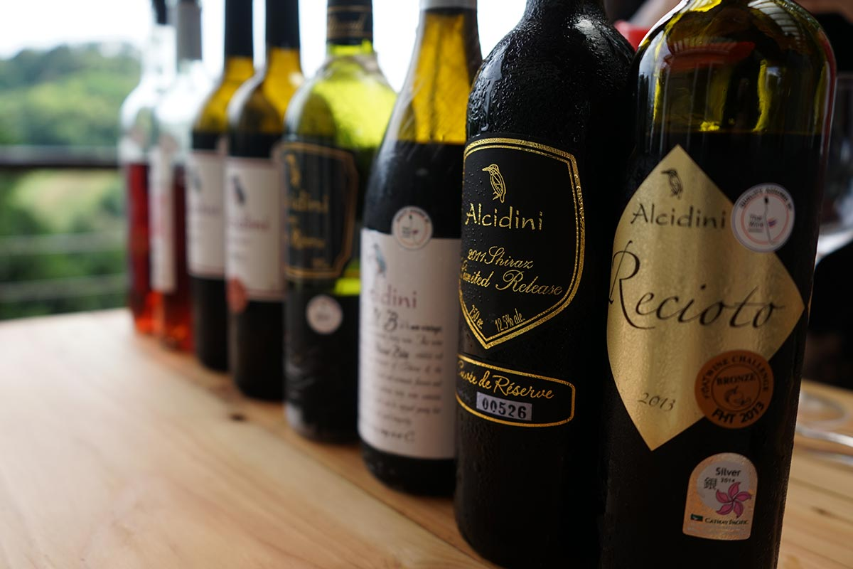 thai award winning wines