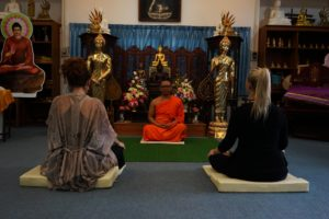 wat suan dok meditation course