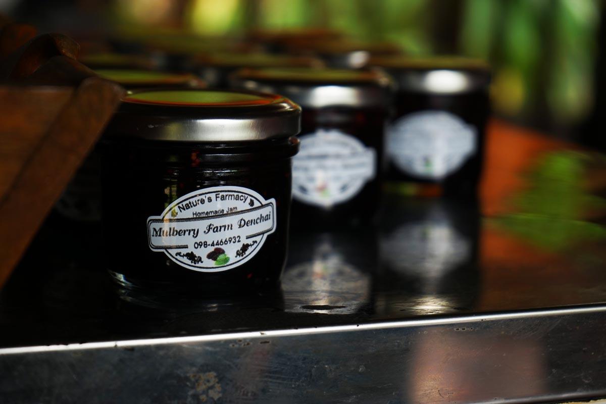homemade mulberry jam recipe