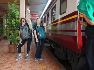 Rocking on the Rails: Riding Third-Class Trains in Thailand