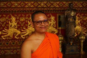 Wat Suan dok monk