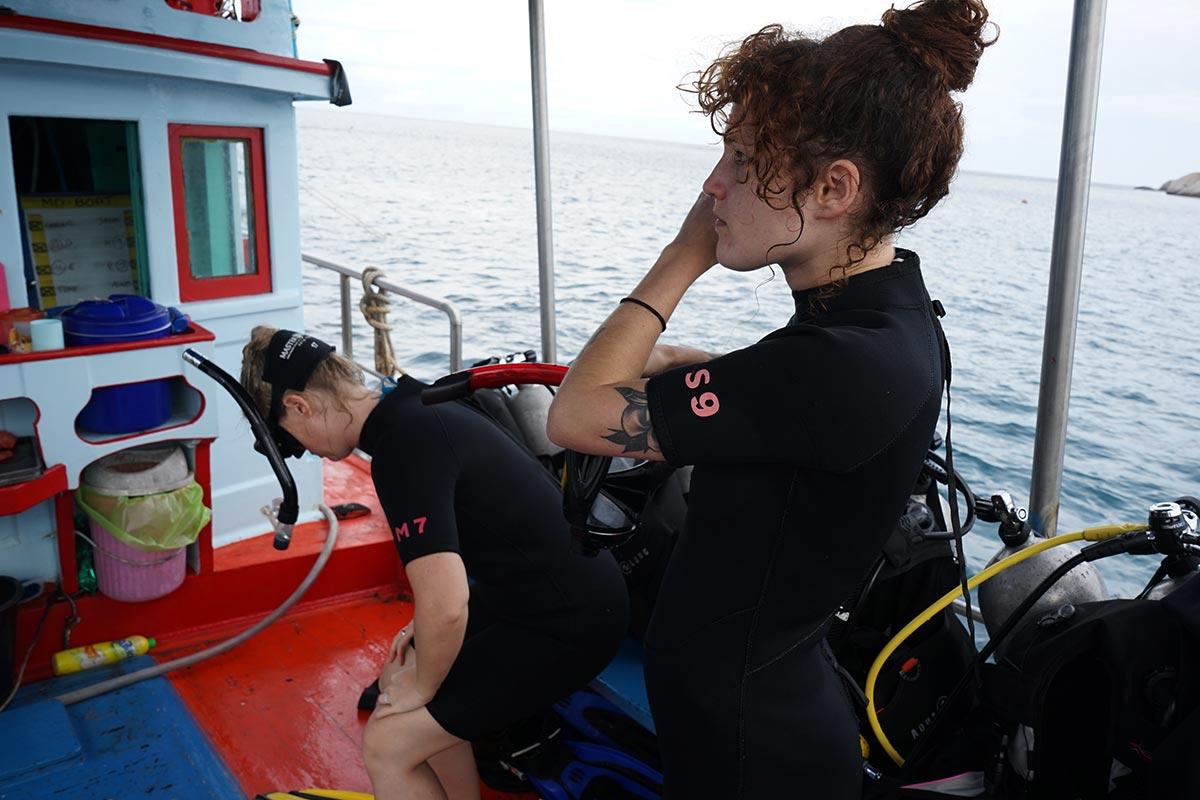ko tao diving story