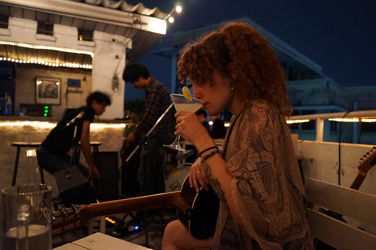 Rooftop Rock: Jamming with an Indie Thai Band